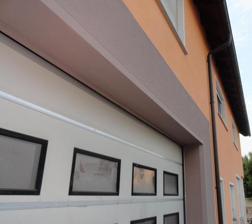 Fassade Wärmedämmung Orange Braun Germersheim 3