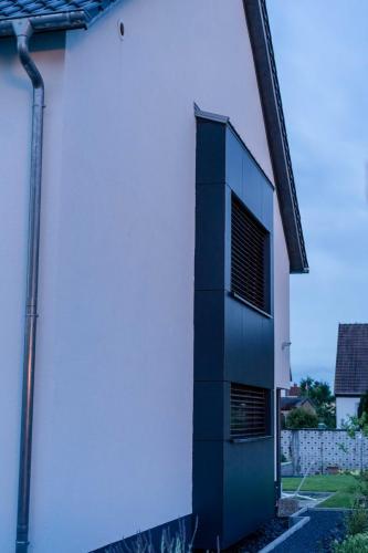 Fassade Weiß Schwegenheim 3