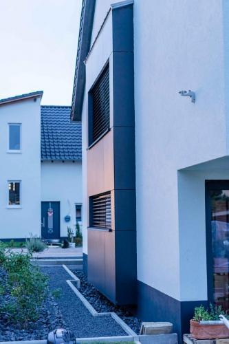Fassade Weiß Schwegenheim 4
