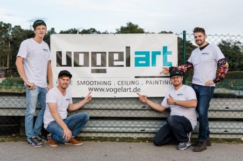 VogelArt Cup 2017 Team Vorstellung Internetauftritt